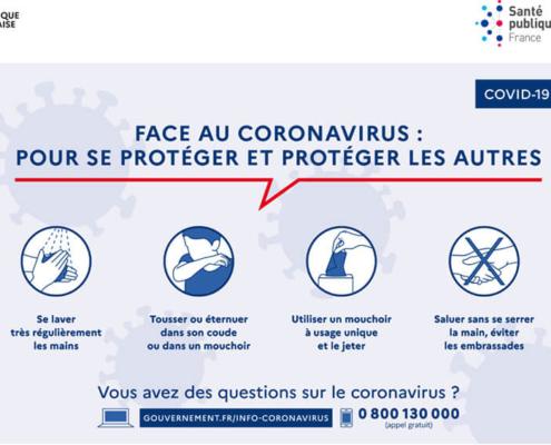 Prévention Covid-19 - RTC Services - Société de nettoyage à Nantes (44)